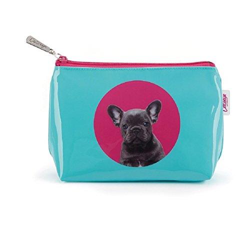 Catseye Kosmetiktasche Spot Bulldog Small Bag Premium Hund Mäppchen Tasche Klein Etui Neu zVuZQ