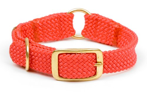 Mendota Products ME31801 Pet Center Ring Dog Collar, 1 x 24, Red