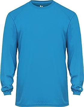 1d7e3d860bec05 Amazon.com   Badger Youth B-Core Long Sleeve Shirt   Sports   Outdoors