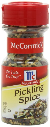 McCormick Mixed Pickling Spice, 1.5 oz (Pack of 6)