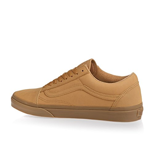 Unisexes Light Old Vans Adultes Pour Mono Baskets Gum Skool vansbuck Basses U8qw8Y
