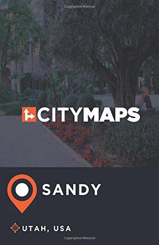 City Maps Sandy Utah, USA