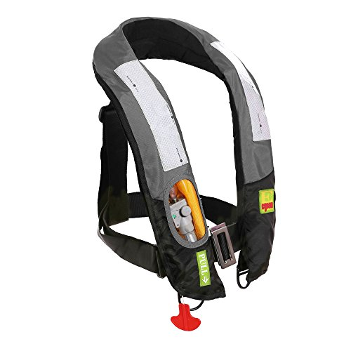 Premium Quality Manual Inflatable Life Jacket Lifejacket PFD Life Vest Highly Visible Inflate Survival Aid Lifesaving PFD