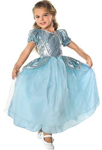 Deluxe Barbie Fashion Fairytale Costume (Rubie's Costume Palace Princess Child Costume, Small)