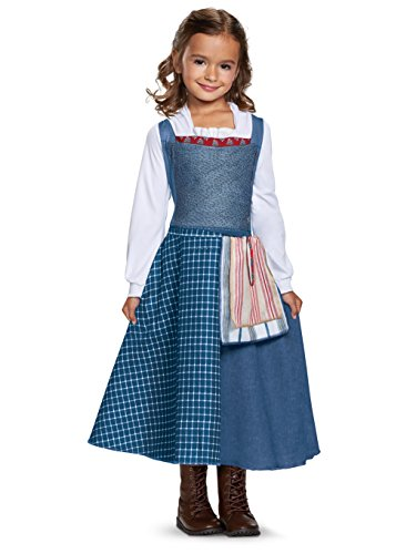 Disguise Belle Village Dress Classic Movie Costume, Multicolor, Medium (7-8)]()