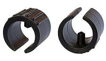 Klemmschalengleiter Filz Ø 18-20mm schwarz Zapfen Filzgleiter Freischwinger