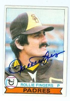 1979 Topps #390 Rollie Fingers San Diego Padres Baseball Card