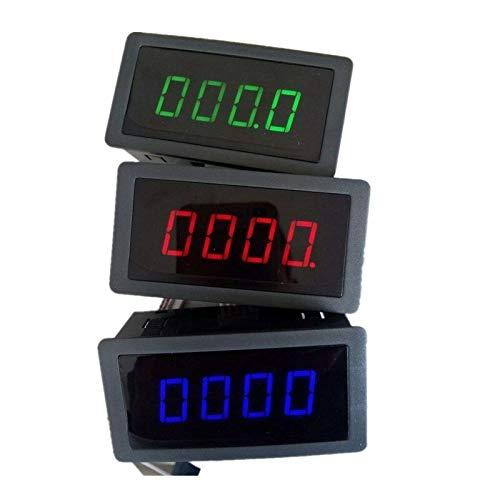 Rbiouseix 4 Digital LED Tac/ómetro RPM Medidor de Velocidad Sensor de proximidad Sensor NPN 12V 9999RPM