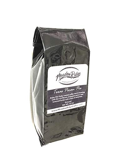 Meadow Ridge Coffee Texas Pecan Pie 100% Arabica Coffee, Medium Roast - 12 Ounce Ground