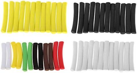 12pcs Colorful Carp Foam Stick Lightweight Cylinder Float Fly Tying Rig Hook