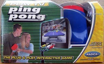 Play TV Ping Pong by Radica - Play Tv Radica