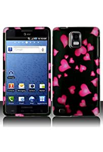 Samsung i997 Infuse 4G Graphic Case - Raining Heart (Free HandHelditems Sketch Universal Stylus Pen)
