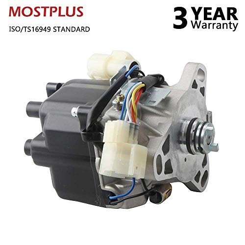 (MOSTPLUS New Ignition Distributor for 1990 1991 Acura Integra w/Manual Transmission TD-07A TD-23U)