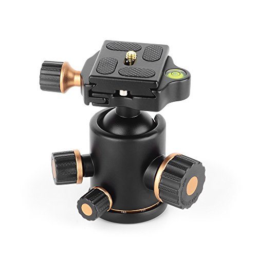 Pergear Heavy Duty Photography Camera Tripod Ball Head 360 Degree Fluid Rotation Tripod Ballhead