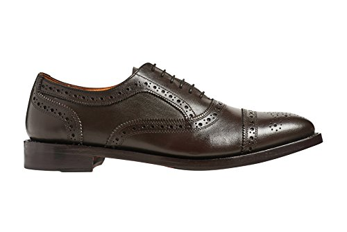 Veer Dress Goodyear Wingtip Quarter Brogue in up Anthony Shoes Welted Ford Brown Lace Leather Mens fzCdxBq7w