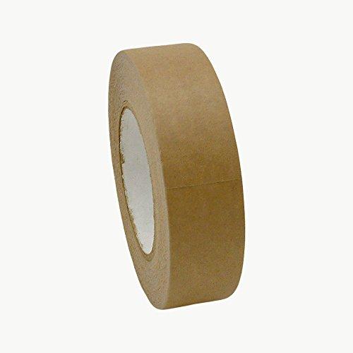 "J.V. Converting FPPT-01/BRN1560 JVCC FPPT-01 Kraft Flatback Paper Packaging Tape: 1-1/2"" x 60 yd, Brown"