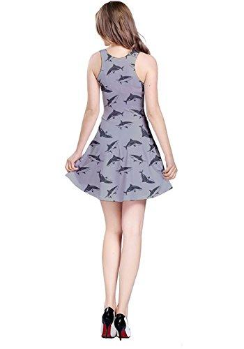 CowCow - Vestido - para mujer Gris Claro