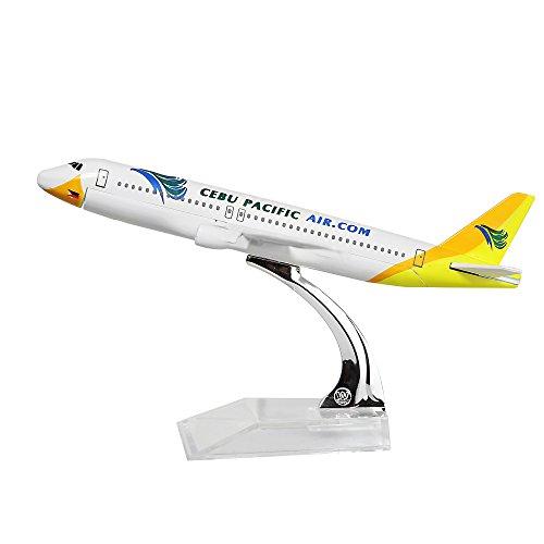 Philippines Cebu Pacific Air A320 Metal Souvenir Model Airplane