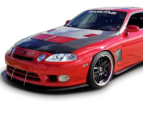 KBD Body Kits Compatible with Lexus SC SC300 SC400 1992-2000 KBD Style 2 Piece Flexfit Polyurethane 50mm Front Fenders. Extremely Durable, Easy Installation, Guaranteed Fitment, Made in the - Polyurethane Front Fender