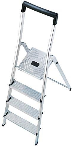 Hailo 8140-401 Escalera de tijera aluminio (4 peldaños): Amazon.es: Bricolaje y herramientas