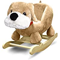 Heritage Kids Dog Kids Figural Rocking Chair, Brown