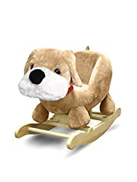 Heritage Kids Dog Kids Figural Rocking Chair, Brown