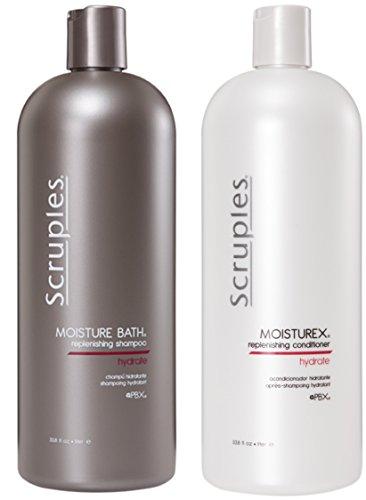 Scruples Moisture Bath Shampoo & Moisturex Conditioner (33.8oz) by Scruples