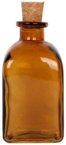8.5 oz. Dark Amber Roma Glass Bottle