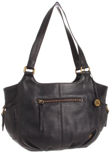 The Sak Kendra Satchel Handbag, Black, One Size by The Sak
