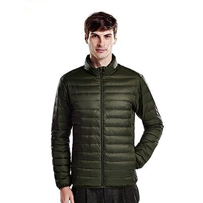 puredown Weatherproof Men's Packable Down Puffer Jacket for sale