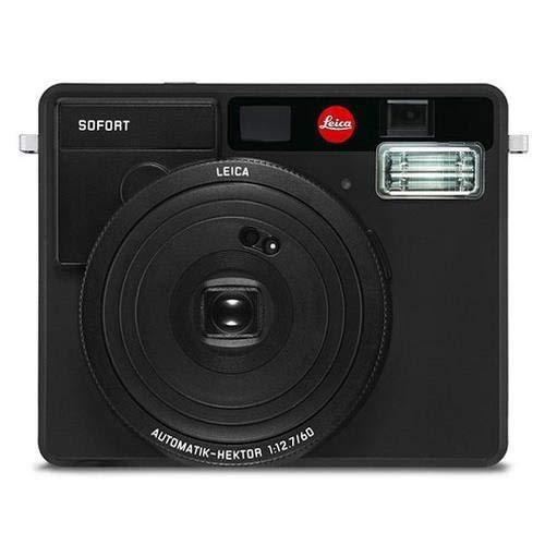 Leica Sofort Instant Camera (Base, Black)