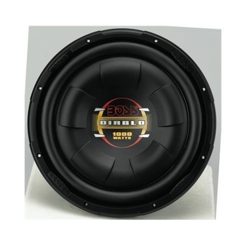 boss - d12f - boss d12f 12 1000w shallow mount diablo series car audio subwoofer sub by BOSS Audio Systems