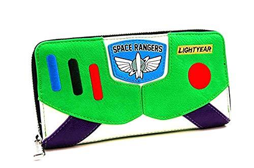 ویکالا · خرید  اصل اورجینال · خرید از آمازون · Loungefly Toy Story Buzz Lightyear Faux Leather Wallet Standard wekala · ویکالا
