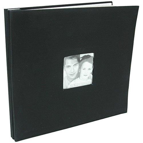Mbi Fashion Fabric Post Bound Album W/Window ()