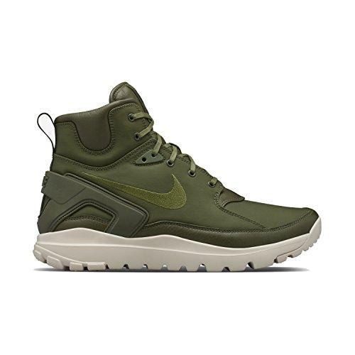 Nike Mens Koth Ultra Mid Si Lab, Grey Green / Rough Green -string, 9 M Us