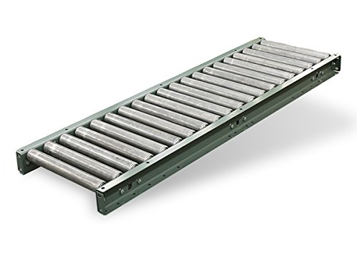 Gravity Roller Conveyor Medium Duty 10 Length 15BF 1.9 Rollers on 6 Centers 18 OAW