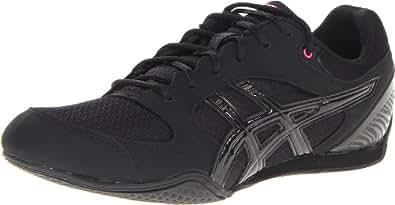 ASICS Women's Rhythmic 2 Cross-Training Shoe,Black/Onyx/Hot Pink,8 M US