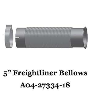 ... Exhaust Pipes u0026 Tips  sc 1 st  Amazon.com & Amazon.com: FL-27334-018 A04-27334-018 Freightliner Bellows Flex ...