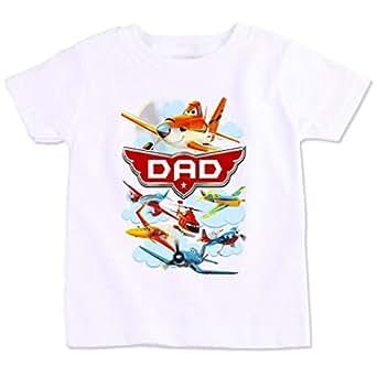 Disney Planes Dad Family Matching Birthday T-Shirt Small