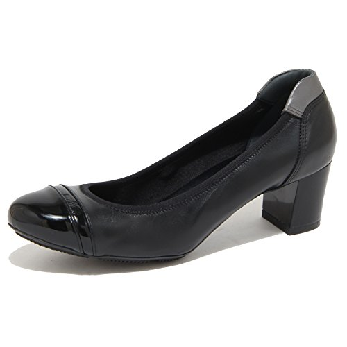 Hogan Donna 8277N Shoes Nero Woman Ballerina Nero T1x1wz