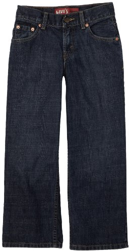Levi_s Boys 8-20 550 Relaxed Fit Jean Slim, Dark Crosshatch 16 Slim 550 Relaxed Fit Tapered Leg