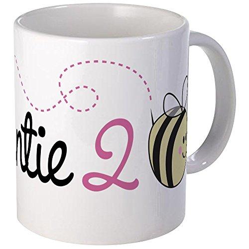 CafePress Auntie To Bee Mug Unique Coffee Mug, Coffee Cup