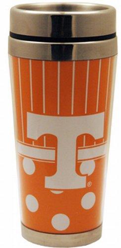 (NCAA Tennessee Volunteers Polka Dot Travel Mug)