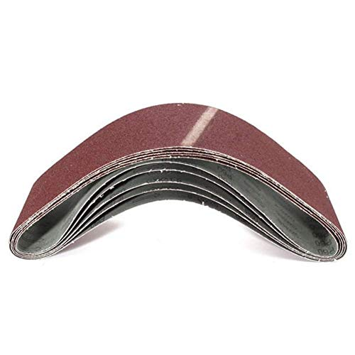 CHUNSHENN クリニークグリットサンディングベルトは、研削、研磨100x915mm 60本の酸化アルミニウム砥サンディングベルト 研磨用 研磨工具