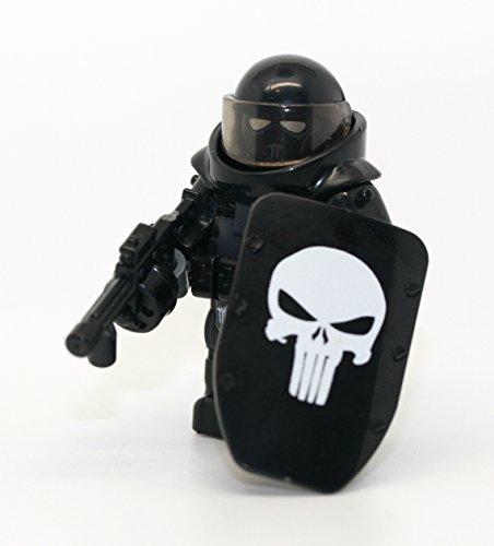 [해외]커스텀 저거넛 육군 폭행 병사 듀티 해골 호출 - 현대 벽돌 전투 주문품 미니 피규어/Custom Juggernaut Army Assault Soldier Call of Duty Skull - Modern Brick Warfare Custom Minifigure