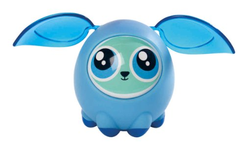 Fijit Friends Interactive Toy (Fijit Friends Newbies Deep Blue Mila Figure)