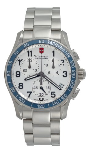 Victorinox Swiss Army Men's 241121 Chrono Classic Silver Dial Watch
