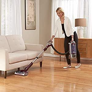 Shark Rotator Powered Lift-Away TruePet (NV752) Upright Vacuum, Mini-Motorized Brush, Bordeaux (Renewed)