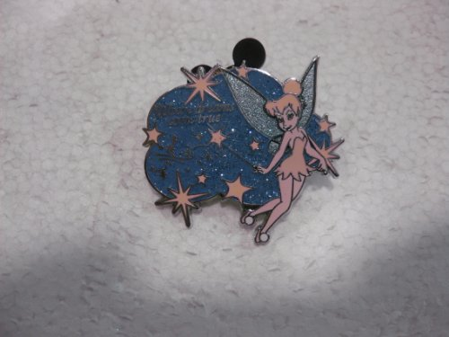 Disney Pin Tinkerbell Where Dreams Come True Pixie Dust Version 3
