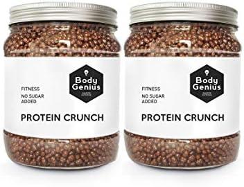 BODY GENIUS Dúo Protein Crunch (Chocoavellana). 2x500g. Cereales ...